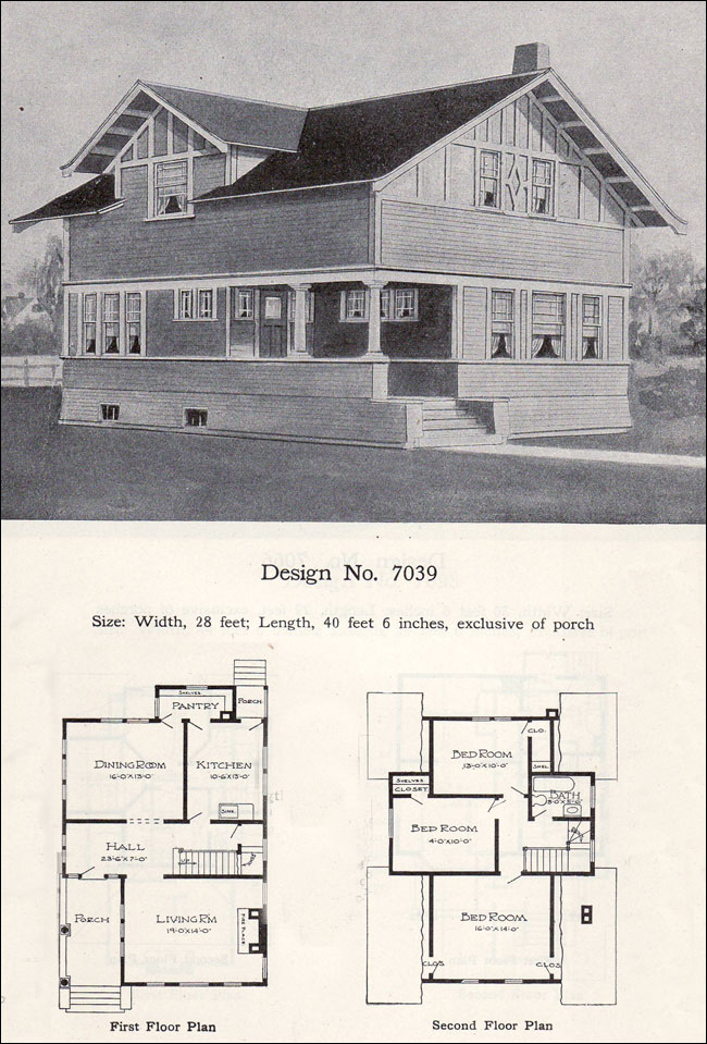 1908 - No. 7039 - William A. Radford Plans - Two-story eclectic Radford Home Floor Plans Antique on open ranch floor plans, sci-fi home plans, antique home windows, antique home features, cliff may homes floor plans, waterfront floor plans, townhouse floor plans, mexican small house floor plans, condo floor plans, small cottage floor plans, vintage floor plans, antique home color schemes, antique home architecture, antique house drawings, aladdin homes floor plans, patio home plans, antique home kitchen, antique house plans, antique home remodeling,