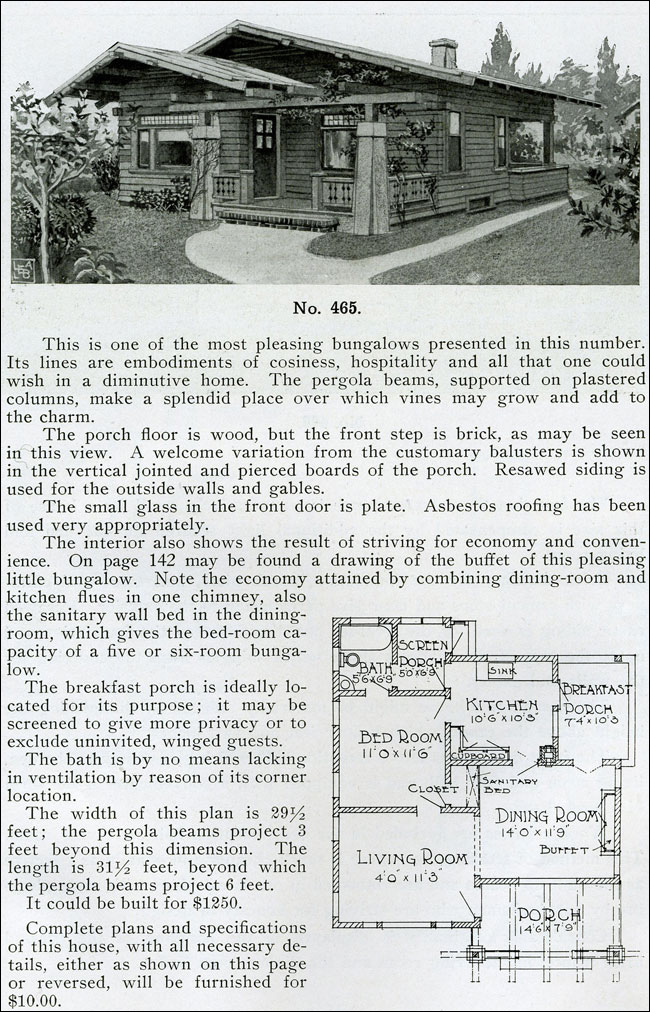 1910 - The Bungalow Book - No. 465
