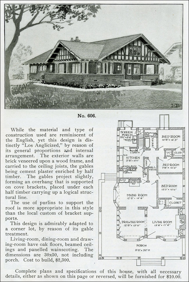 1910 - The Bungalow Book - No. 606