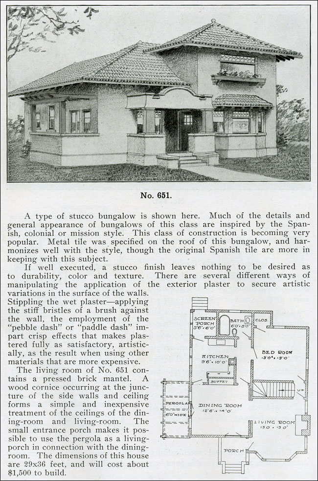 1910 - The bungalow Book - No. 651