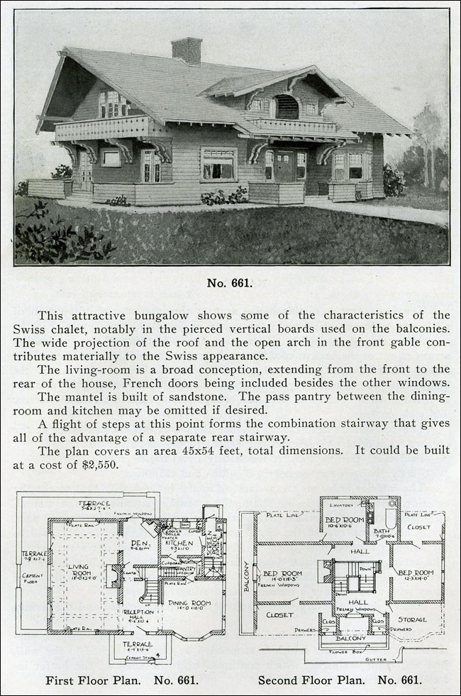 1910 - The Bungalow Book - No. 661