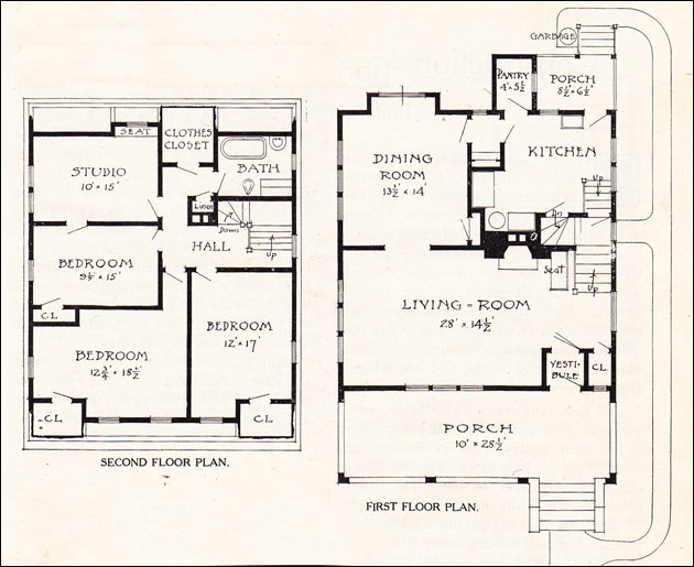Dutch Colonial House Plans Dutch Colonial Floor Plan