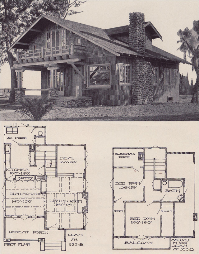 1912 swiss chalet style bungalow los angeles investment company designed by ernest mcconnell - Swiss style house plans ...