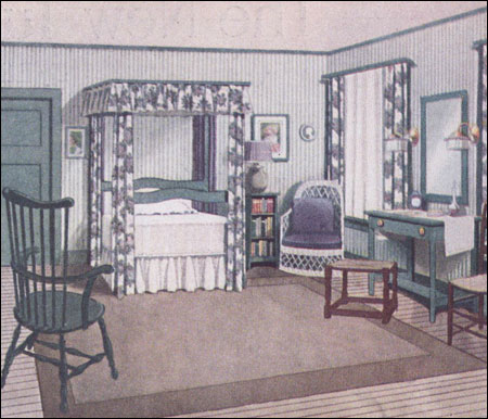 Inside The 20th C American Bedroom Decorating 1900 To