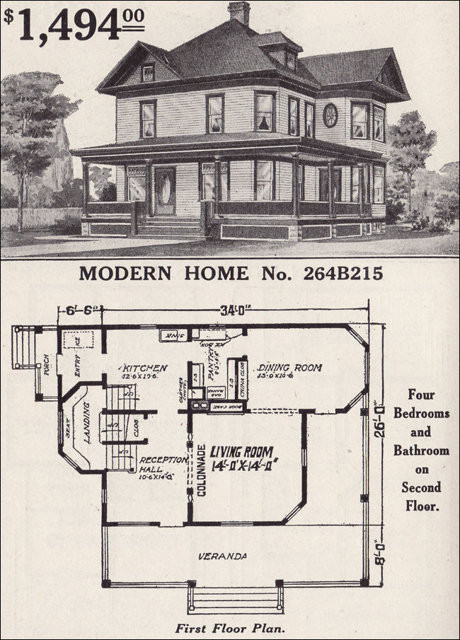 craftsman bungalow floor plans
