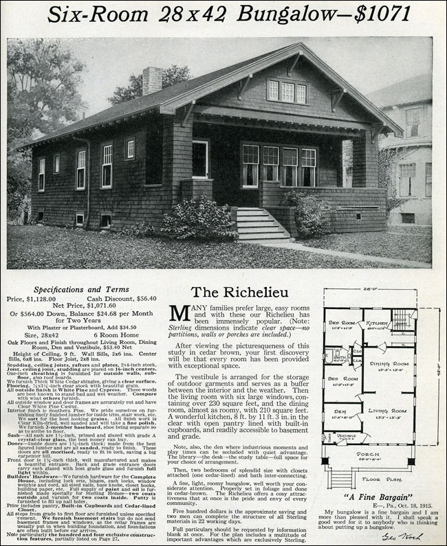 1916 Classic Small Craftsman Bungalow