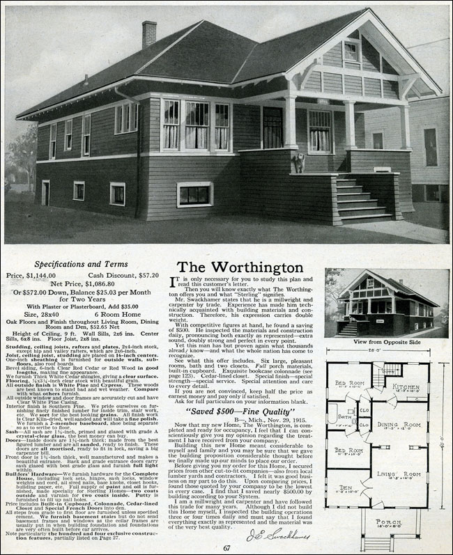 1916 Sterling - Worthington