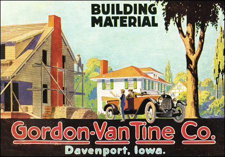 1918 Gordon Van Tine Home Plan