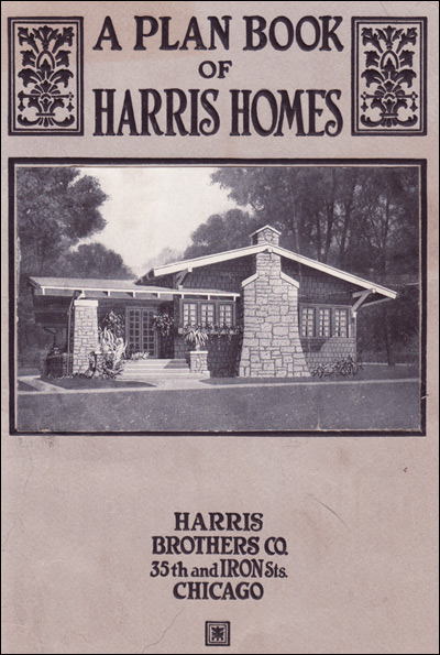 Harris Bros. Co. - 1918 Cover
