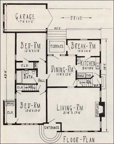 1925 Peacock Lane - Wade Home Plan