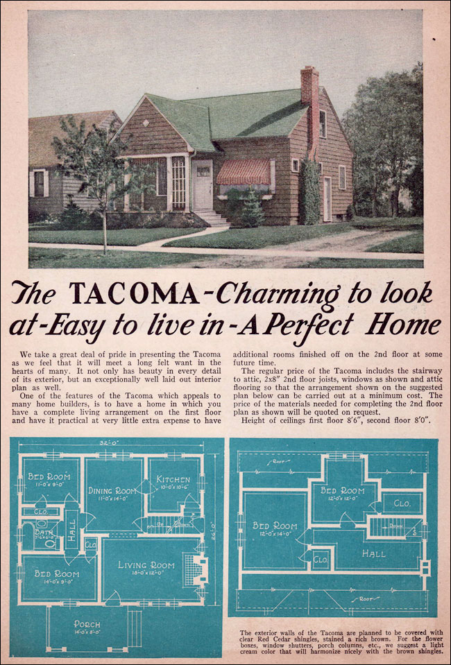1935 Liberty Homes - Lewis Manufacturing - The Tacoma