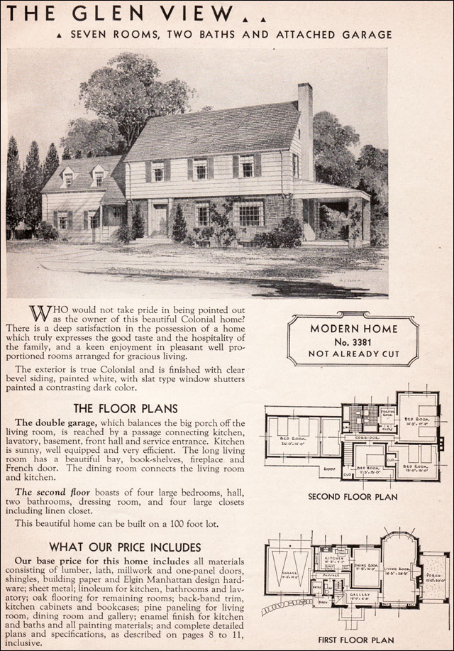 Garrison style house plans