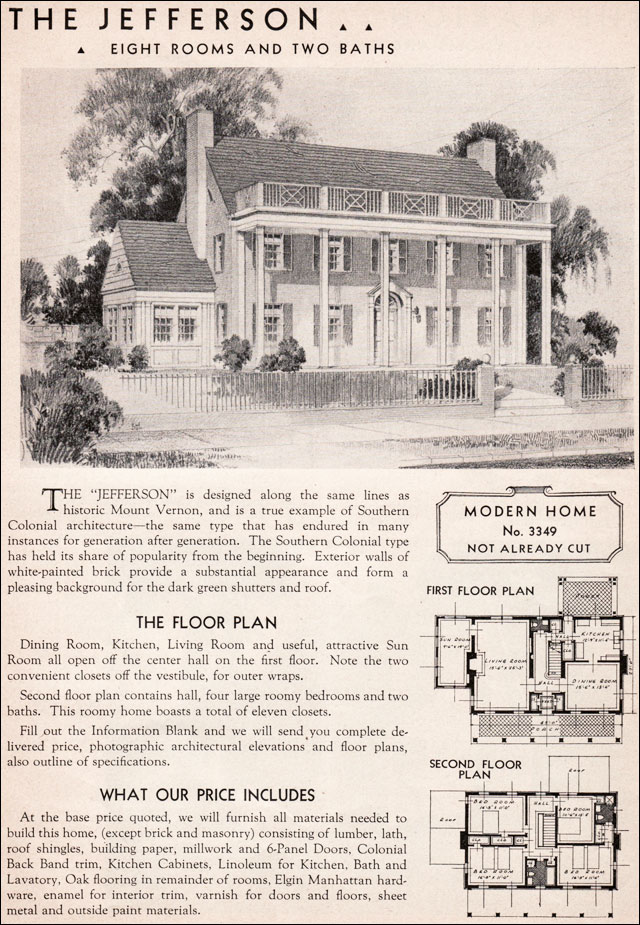 1936 Sears Kit House - Jefferson