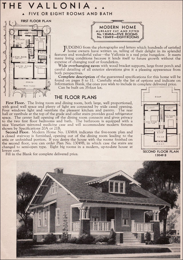 1936 Sears Kit House - Vallonia