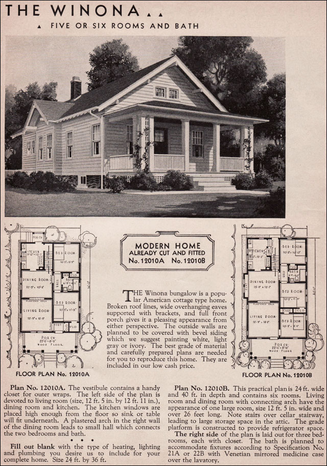 Sears craftsman bungalow house plans images Craftsman bungalow home plans