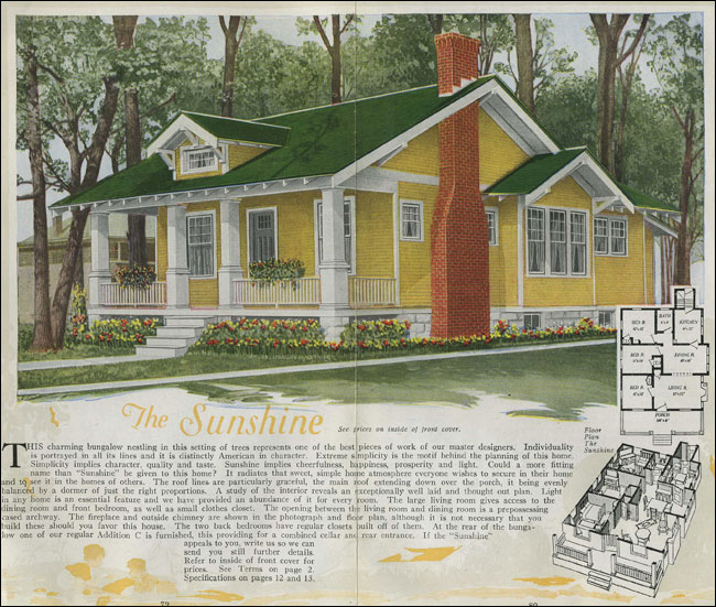 Outstanding 1920 House Plans Classic Craftsman Style Bungalow The Sunshine Largest Home Design Picture Inspirations Pitcheantrous
