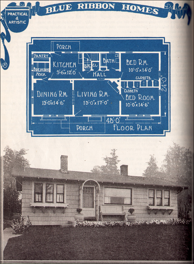 1921 Blue Ribbon Homes - Cottage