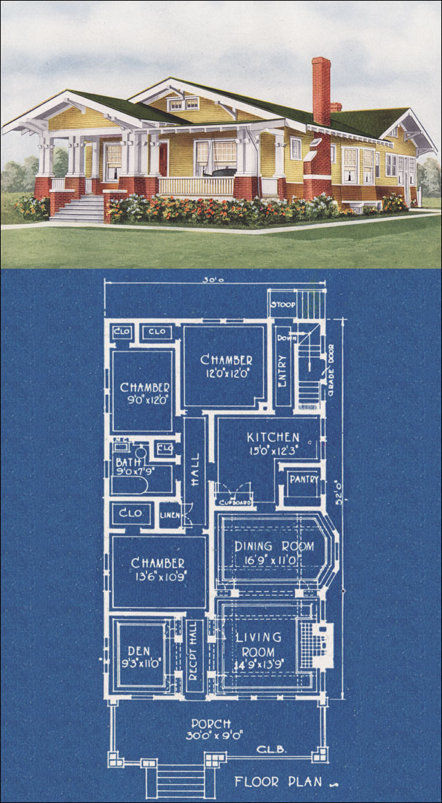 Small craftsman cottage plans joy studio design gallery California bungalow floor plans