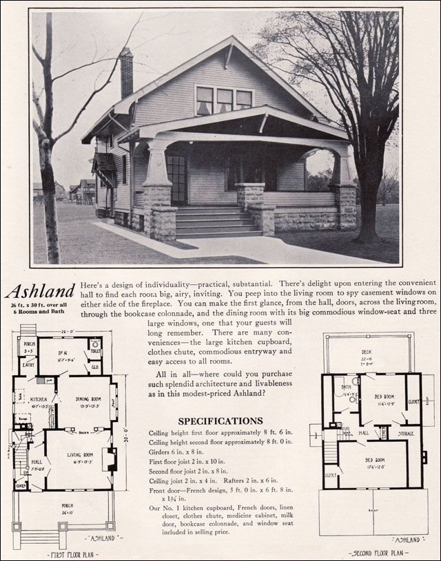 Modern 1920s Bungalow 1922 Bennett Homes Better Built