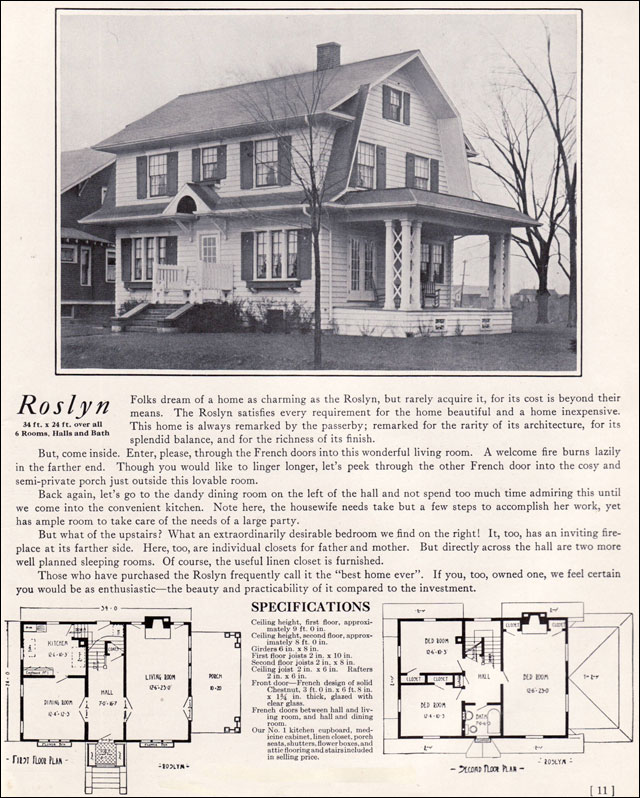 1922 Dutch Colonial Revival