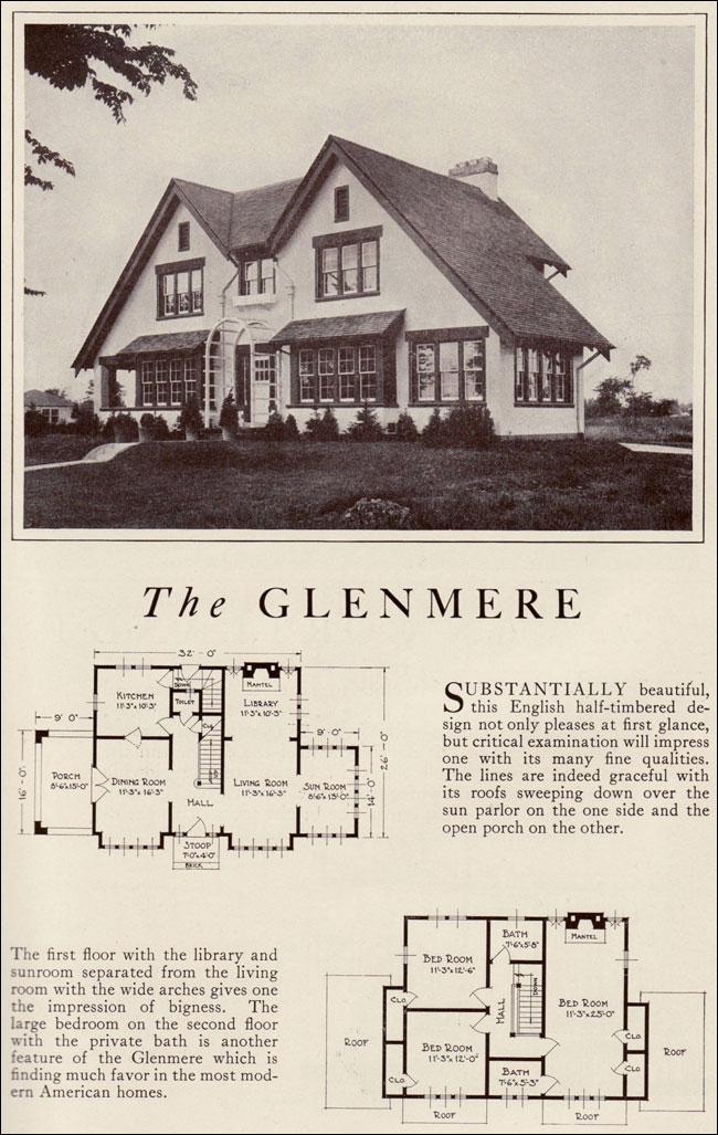 1922 Lewis Manufacturing Kit House Glenmere Arts And