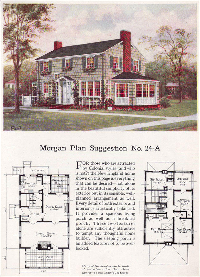 1923 classic colonial revival traditional house