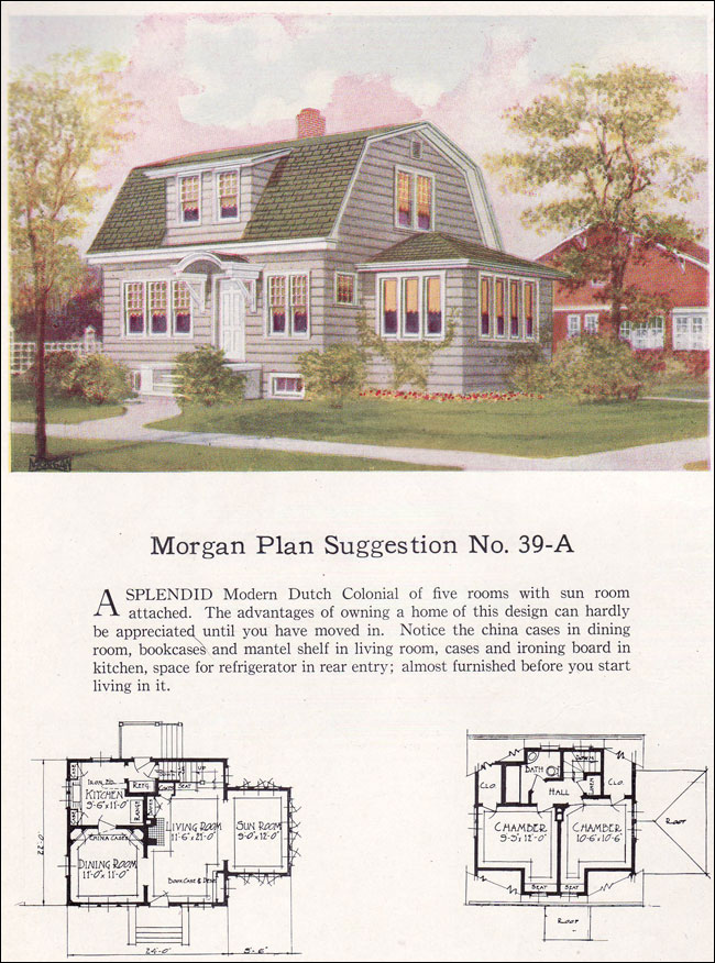 1920 s dutch colonial house plans for Dutch colonial house plans with photos