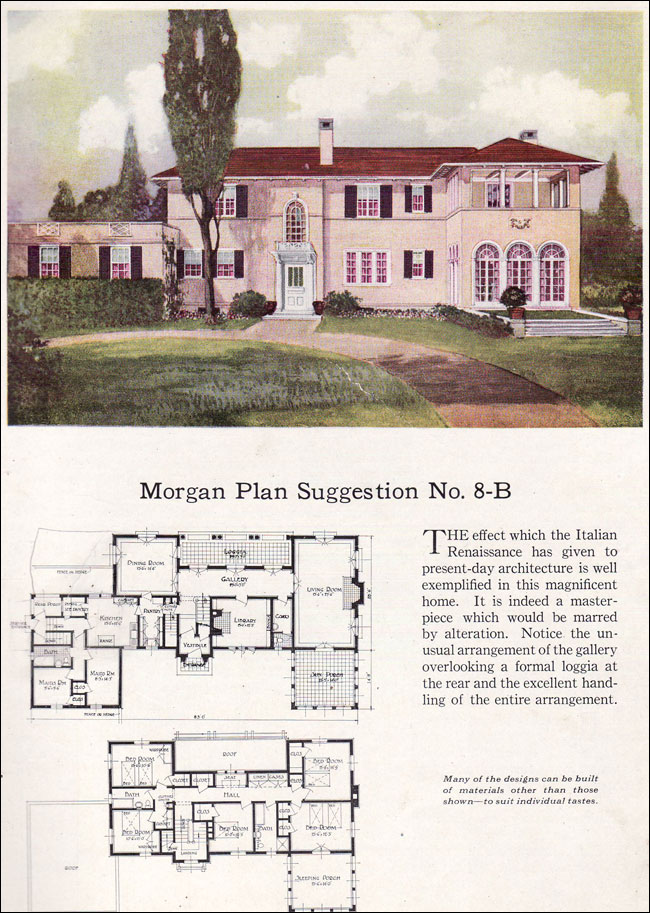 Italian renaissance home plans for Italian farmhouse plans