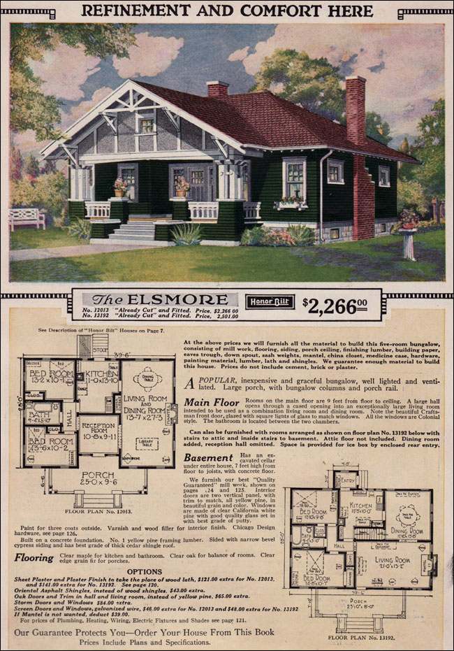 1923 Sears Modern Home - Elsmore