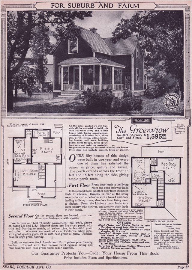 1923 Sears Greenview