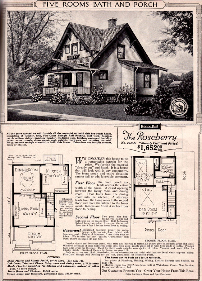 Sears Bungalow House Plans Over 5000 House Plans