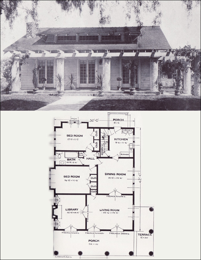 The Cardenas 1920s Bungalow 1923 Craftsman Style From