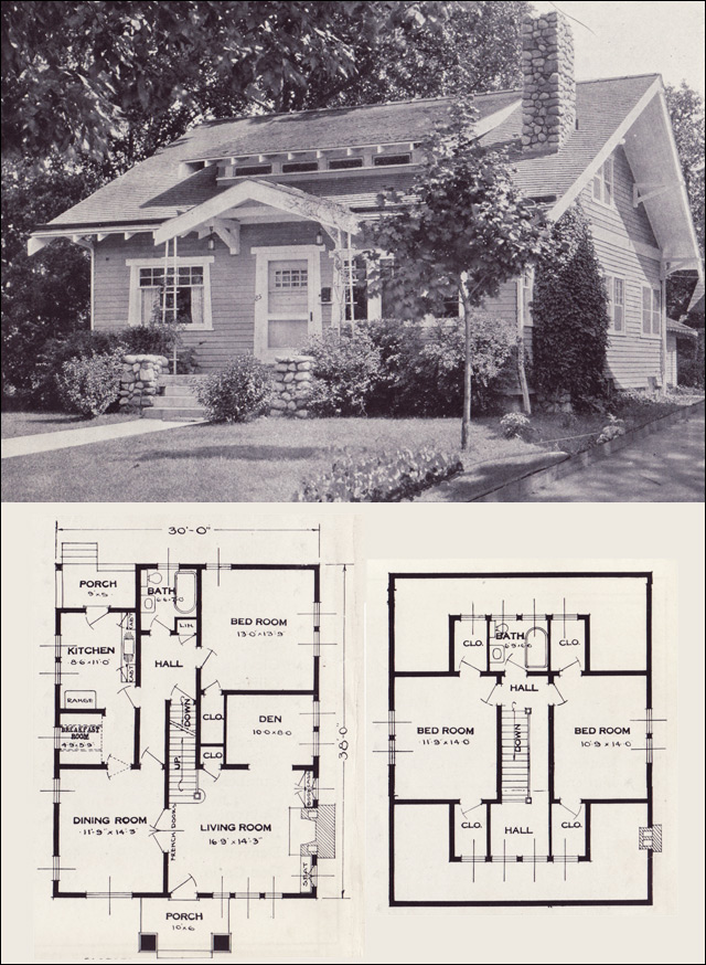 The Gladstone 1923 Standard Homes Company House Plans