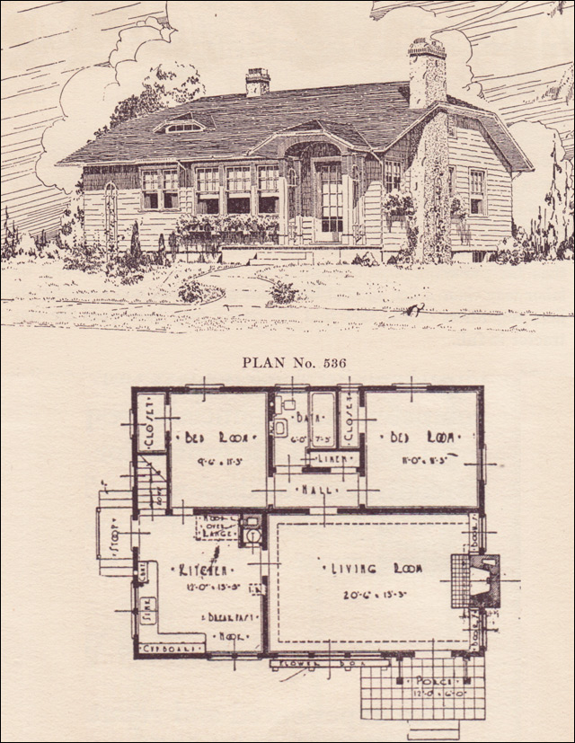 Clipped Gable Cottage House Plans The Portland