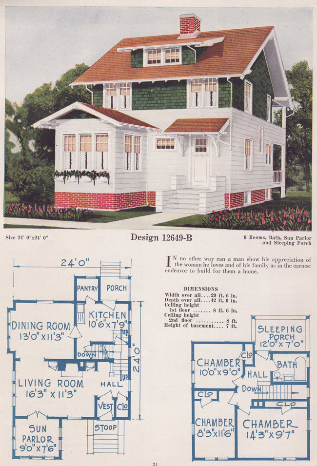 1925 Eclectic Bungalow Two Story Bowes Co Hinsdale Il