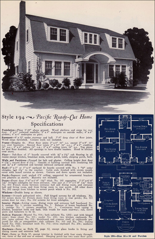 1925 Pacific Ready Cut Homes - 194