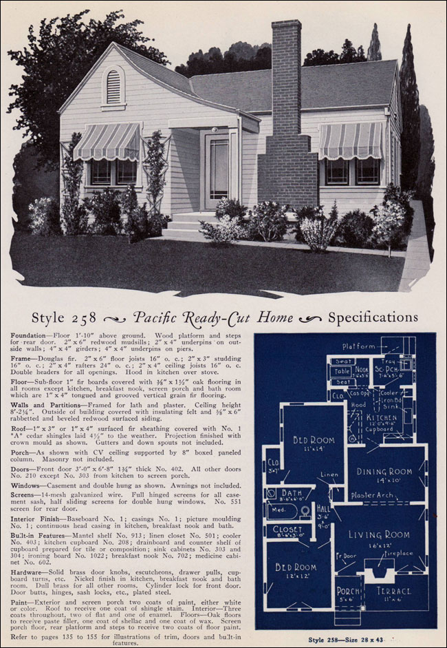 1925 Pacific Ready Cut Homes - 258