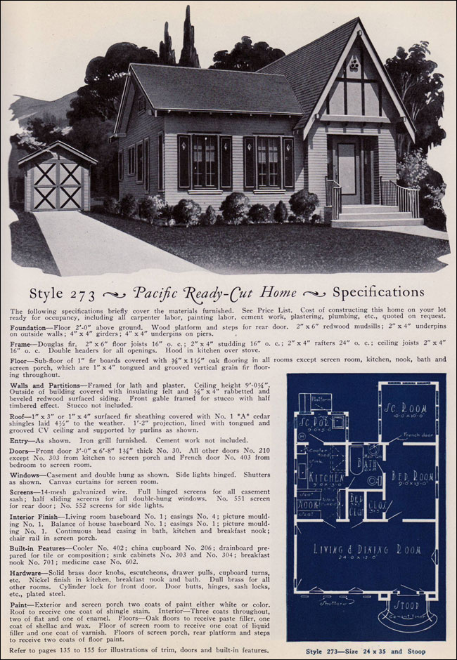 1925 Pacific Ready Cut Homes - 273