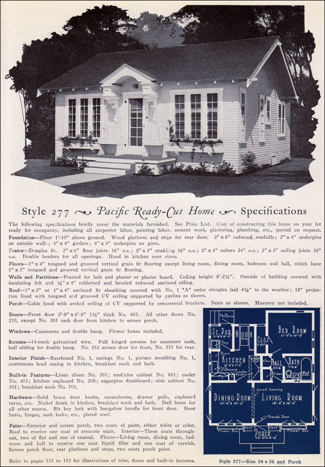 1925 Pacific Ready Cut Homes - 277