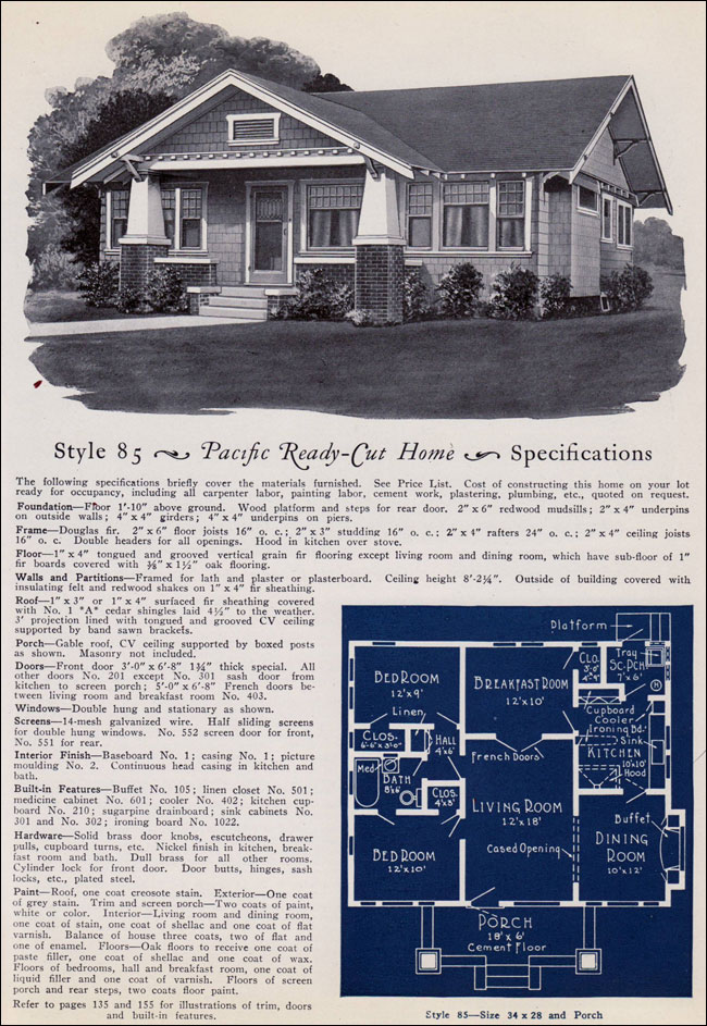 1925 Pacific Ready Cut Homes - 85