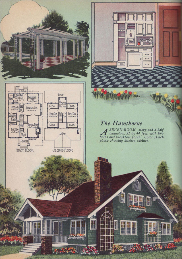 1925 american builder magazine by william a radford for Builder magazine house plans