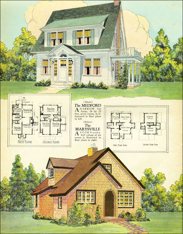 1925 american builder magazine published by william a