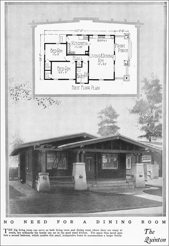 1925 california craftsman bungalow radford home for 1925 house styles