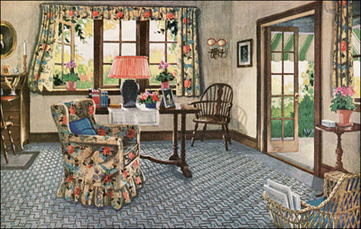 1926 Colonial Sitting Room