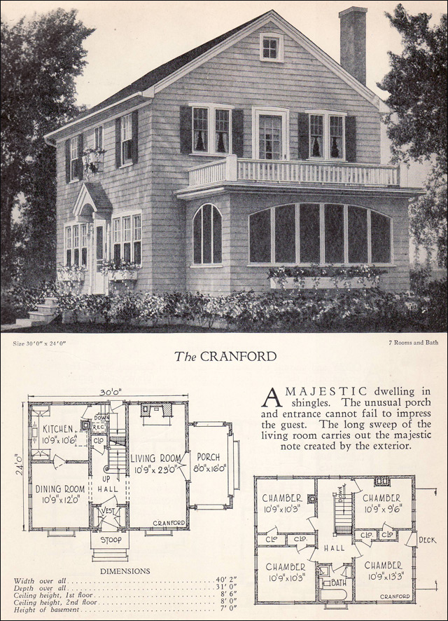 Traditional 1928 colonial revival house plan the for House plans colonial style homes