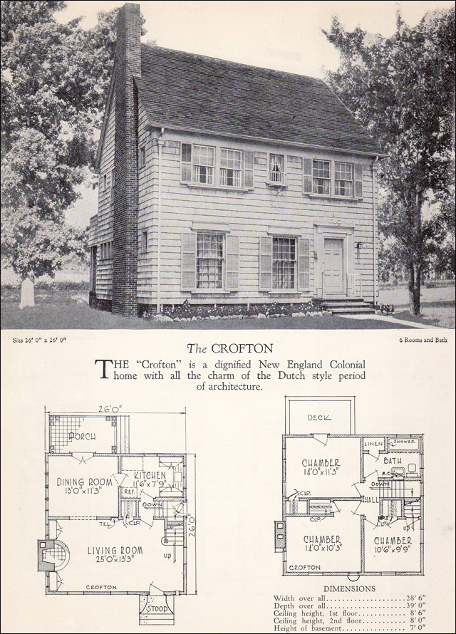 1928 Home Builders Catalog - Crofton