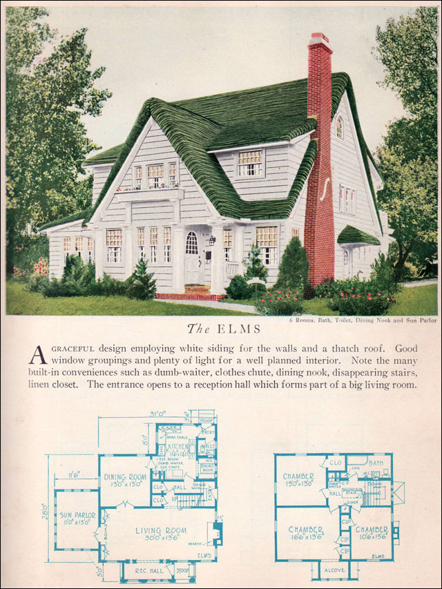 1929 Home Builders Catalog - Elms