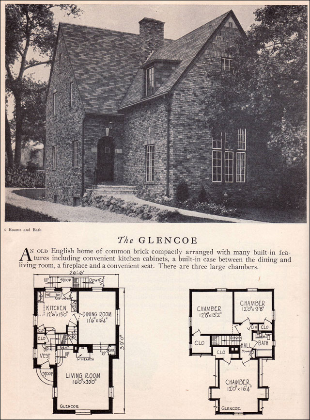 1929 Home Builders Catalog - Glencoe