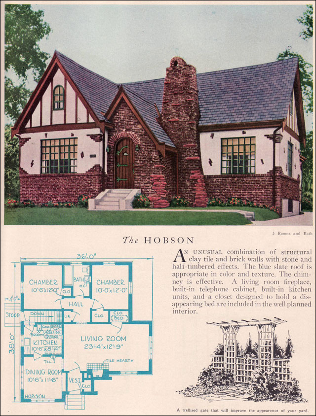 1929 Home Builders Catalog - Hobson