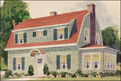 1930 Montgomery Ward Dutch Colonial